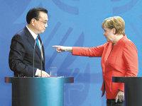 În timp ce Berlinul se chinuie să stăvilească pofta companiilor chinezeşti de tehnologie germană, marile companii germane îşi duc de bunăvoie inovaţiile şi tehnologiile în China
