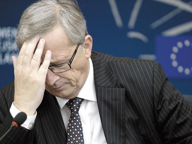 """Jean-Claude Juncker, preşedintele ales al Comisiei Europene: """"Am mers mult, dar încă nu am ajuns la sfârşit"""". Cu aceste cuvinte el a sugerat că Europa nu a depăşit criza din zona euro."""