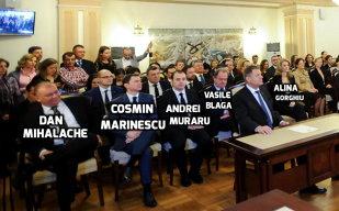Oamenii din spatele preşedintelui Iohannis: printre ei se numără un fost consilier al premierului Adrian Năstase, un profesor la ASE şi un profesor de istorie