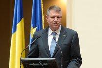 Preşedintele Iohannis: Veniturile bugetului sunt cu 6 mld. lei sub program în S1 2017