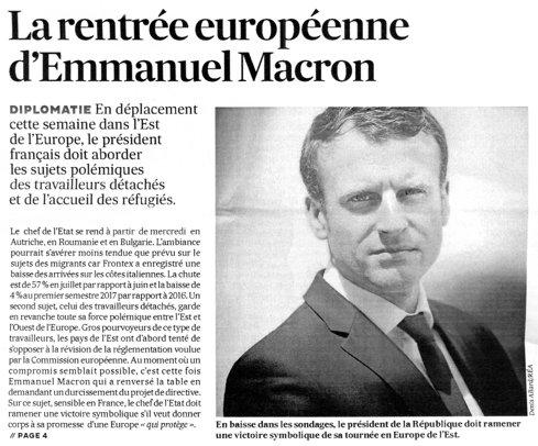 Ce caută Macron, noul preşedinte al Franţei, la Bucureşti. Care sunt mizele României