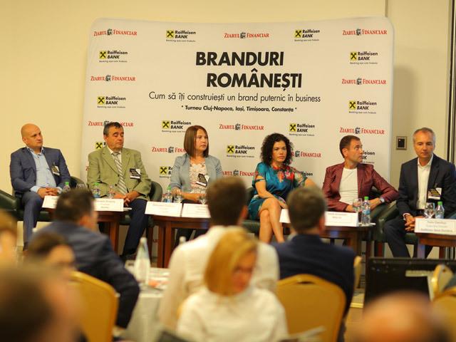 Conferinţa ZF Branduri Româneşti, Iaşi. Cum îţi construieşti un brand puternic? Dezvoltarea brandului este cea mai importantă investiţie a unei companii pe termen lung