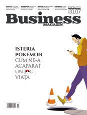 Ce puteţi citi săptămâna aceasta în Business Magazin: Isteria Pokemon - ce este în spatele jocului
