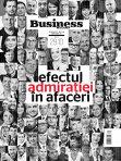 """Ce puteţi citi în această săptămână în revista Business MAGAZIN: """"Efectul admiraţiei în afaceri"""""""