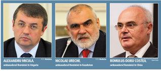 """Lista """"celor mai slabi"""" ambasadori ai României: pieţele primilor trei generează împreună un deficit comercial de 6,5 miliarde de euro"""