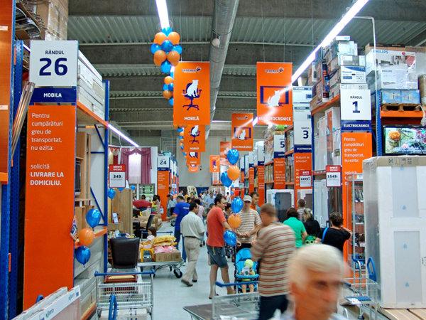 Topul retailerilor de pe piaţa de bricolaj în funcţie de cifra de afaceri