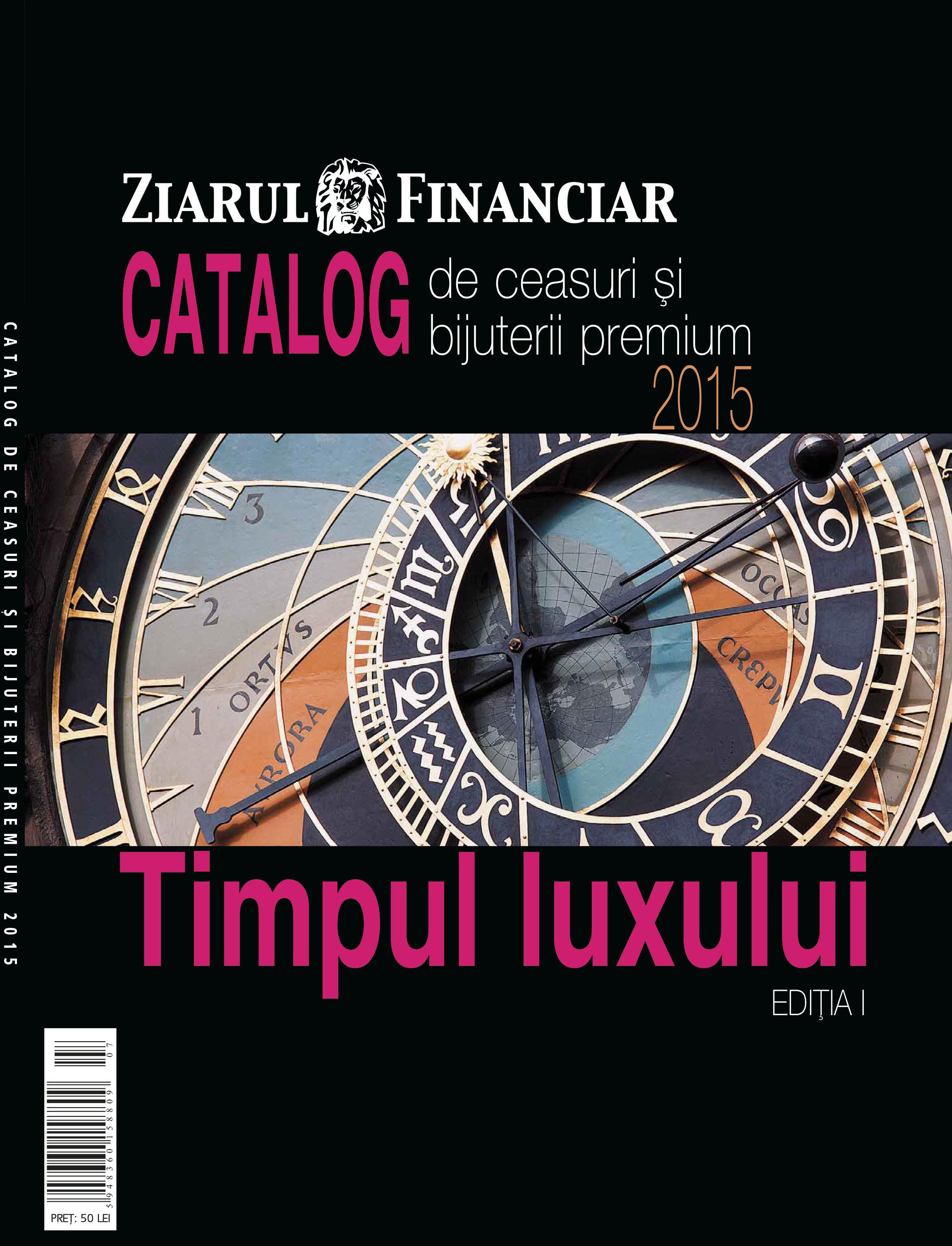 Cum se alege ceasul perfect? Aflaţi din primul catalog de ceasuri şi bijuterii premium, Timpul Luxului, editat de ZF
