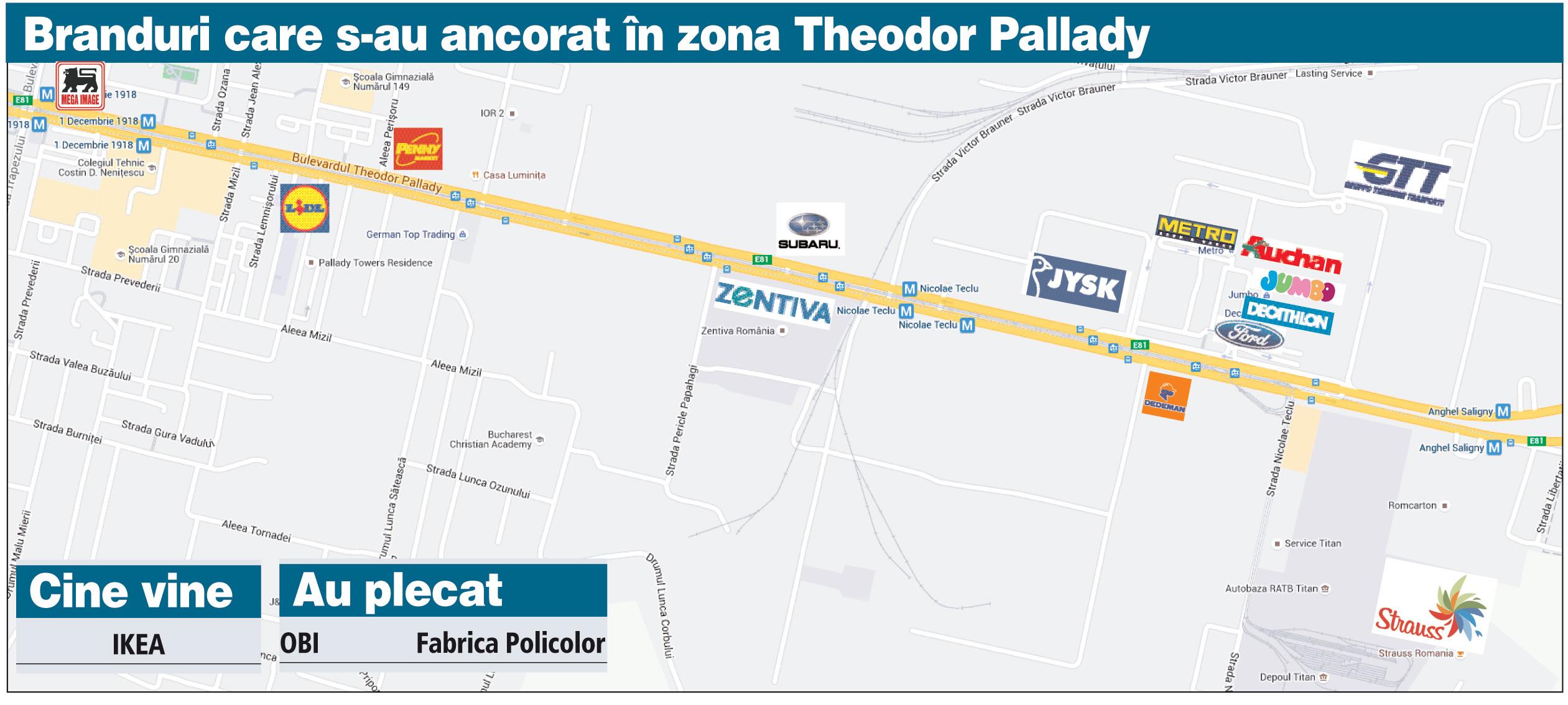 Harta Bulevardului Theodor Pallady Se Aglomerează Zona Devine Un