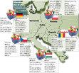 GRAFIC :  Cum arată acelaşi coş de cumpărături în Europa