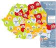 Harta de business a României în 2015: pentru prima dată patru judeţe din Moldova sunt în top creşteri în economie