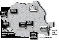"""Harta expansiunii Jumbo. Retailerul de jucării Jumbo """"desenează"""" primele magazine din Moldova şi Dobrogea"""