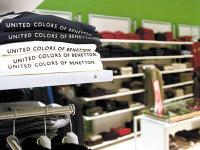 Grupul italian de modă Benetton pierde teren la export într-un an în care şi-a reorganizat operaţiunile locale