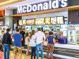 Harta McDonald's în regiune. Numărul de restaurante este direct proporţional cu populaţia, dar mai ales cu puterea de cumpărare