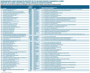 Topul celor mai mari 50 de companii înfiinţate în 2017. Cine sunt şi din ce industrii vin