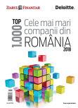 ZF anuarul Top 1000 cele mai mari companii din România. Peste 700 dintre cele mai mari 1.000 de companii din România şi-au majorat businessurile în ultimii cinci ani