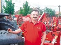 """Dan Herţeg, şeful Agro Raluca din Arad: """"Cea mai mare cantitate de gâu o vindem la export, în Italia. Brutarii noştri nu plătesc"""""""