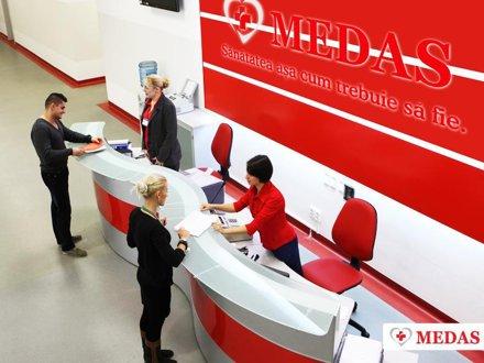 Operatorul de servicii medicale Medas, afaceri de 38,7 milioane de lei, în scădere cu 8,7% anul trecut