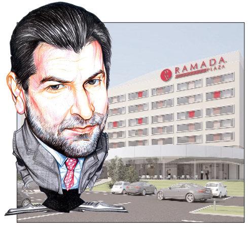 Hotelul Ramada Plaza din Craiova, controlat de Radu Berceanu, grad de ocupare de 60%