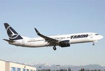 Cum arată Sarmizegetusa, cel mai nou avion intrat în flota Tarom. VIDEO