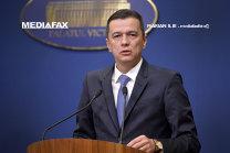 Premierul Sorin Grindeanu a ajuns la Palatul Victoria, după discuţia cu Liviu Dragnea