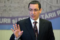 Ponta: Voi vota la vedere împotriva moţiunii de cenzură cu convingerea unui Guvern Grindeanu