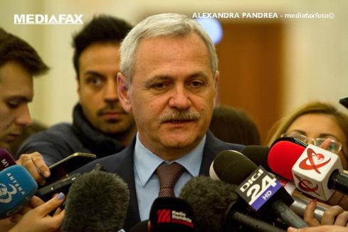 Liviu Dragnea: Convingerea mea e că Tudose nu are dublă comandă. Suspiciunea e mare după Grindeanu