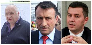Felix Stroe (stânga), Paul Stănescu (mijloc), Marius Nica (dreapta)