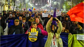 Zeci de protestatari din ţară au ajuns în Capitală.Mesajul Jandarmeriei pentru protestul anunţat azi