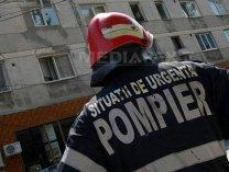 Explozie într-un apartament din Braşov, două persoane au fost rănite