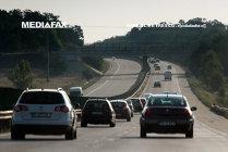 Circulaţia pe A2 a fost reluată. Incediul de vegetaţie a fost stins