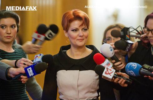 Olguţa Vasilescu: Probabil voi ocupa portofoliul de la Muncă