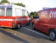 Carambol pe DN 14: Un bărbat, rănit grav. Traficul este blocat