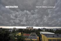 Cluj: O parte din acoperişul spitalului din Huedin a fost luat de vânt