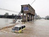 Cel puţin 75 de persoane au murit sau sunt date dispărute în urma inundaţiilor din nordul Chinei