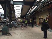 Accident cu numeroase victime în SUA după ce un tren a deraiat şi a lovit peronul unei gări