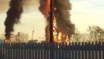 Explozie puternică la o rafinărie din nordul Italiei