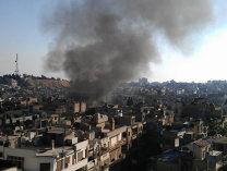 Explozii puternice în apropierea aeroportului din Damasc,posibil cauzate de atacuri israeliene-presă