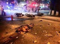 Cel puţin 24 de răniţi, în urma exploziei unei bombe la un spital din Thailanda