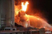 Incendiu, în urma unei explozii la o centrală electrică din SUA
