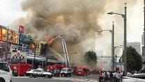 Incendiu puternic, în Tokyo, la cea mai mare piaţă de peşte din lume