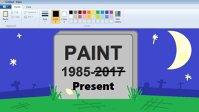 """Nostalgia utilizatorilor a salvat bătrânul Paint: Microsoft se răzgândeşte în privinţa uciderii """"Paint"""", după reacţiile de pe reţelele de socializare"""