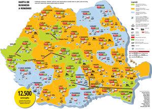 Atlasul economic al României, prima ediţie din capitalism