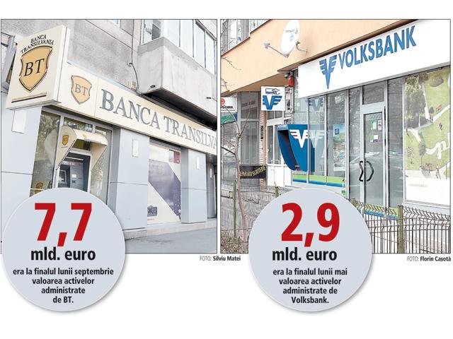 Banca Transilvania, cu cash de 4 mld. lei în conturi, negociază preluarea Volksbank