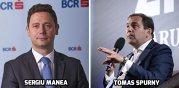 Schimbare fulgerătoare: Tomas Spurny pleacă de la conducerea BCR, iar în locul lui este numit Sergiu Manea, primul român pus de Erste la conducerea celei mai mari bănci româneşti