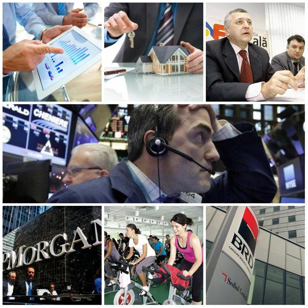 Cele şapte evenimente care au marcat săptămâna: Bursele îşi continuă prăbuşirea; Cioloş a tăiat capul diviziei de business care îi strângea 40 mld. € pe an; World Class îşi cumpără principalul competitor; Încă o mare bancă majorează avansul la credite