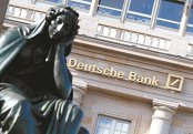 """Când Deutsche Bank cade, chiar şi pe burse, se cutremură tot sistemul bancar european, iar acest lucru îi înspăimântă pe investitori. """"Grav este că teama lor se poate propaga în întregul sistem, aşa cum au demonstrat-o scăderile în lanţ de ieri de pe bursele de acţiuni"""""""