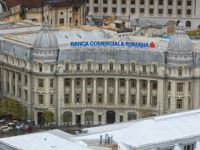 BCR a devenit cel mai mare jucător de pe piaţa titlurilor de stat din România după primele opt luni din 2017