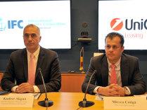Cel mai mare împrumut în lei acordat pe piaţa locală de Banca Mondială: UniCredit Leasing împrumută 150 mil. lei de la IFC  pentru finanţarea IMM-urilor