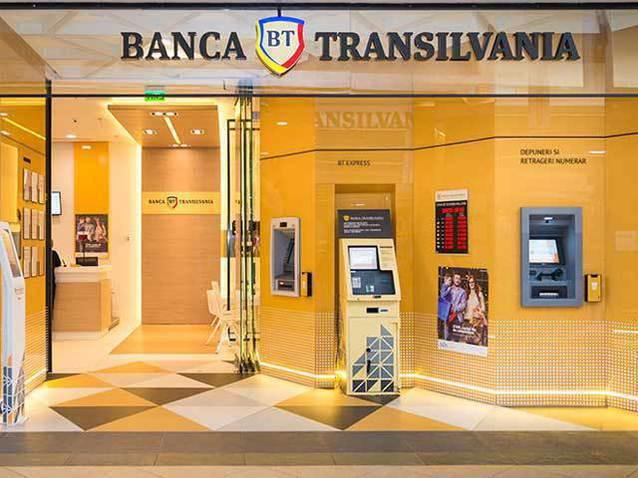 Bank Transilvania has a 14% credit card market, corresponding to 410,000 units