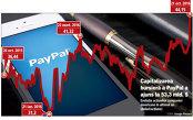 Acţiunile PayPal s-au apreciat cu 10% după ce compania a publicat rezultatele pentru T3